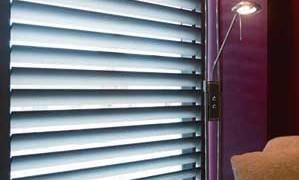 Style shutters geven een speels accent bij een klassiek interieur.