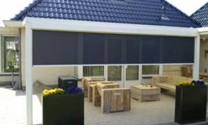 Verschillende soorten terrasoverkapping mogelijk